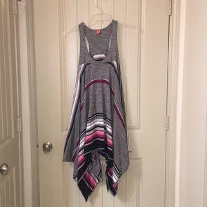 HUGO BOSS Flowy Striped Festival Dress Tunic Top